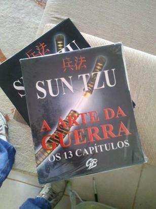 Campanha Ganhe Um Livro A Arte Da Guerra 孫子兵法 Blog Fabiano